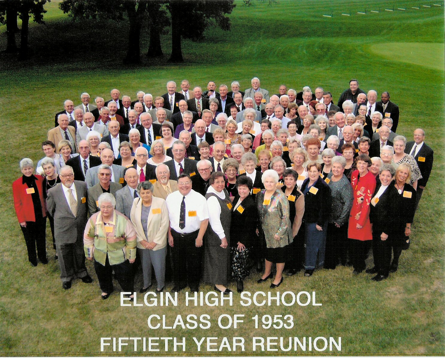50th high school class reunion taken at the 50th reunion of the